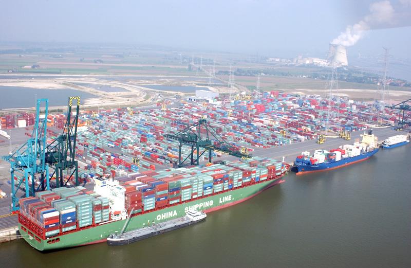 Бельгийский порт Антверпен