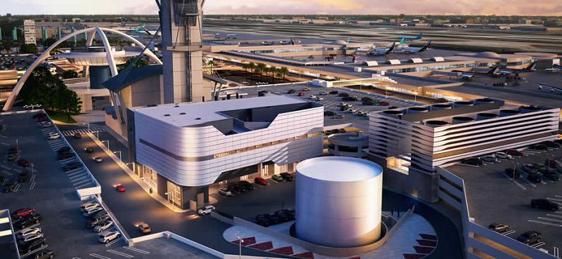 Новая ТЭС в международном аэропорту Лос-Анджелеса