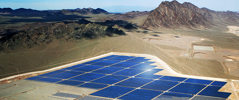 Солнечная электростанция Copper Mountain Solar 3 в США