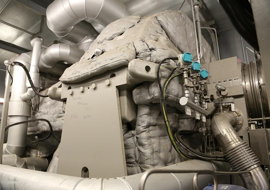 Пермская ТЭЦ-6, паровая турбина Siemens SST-600