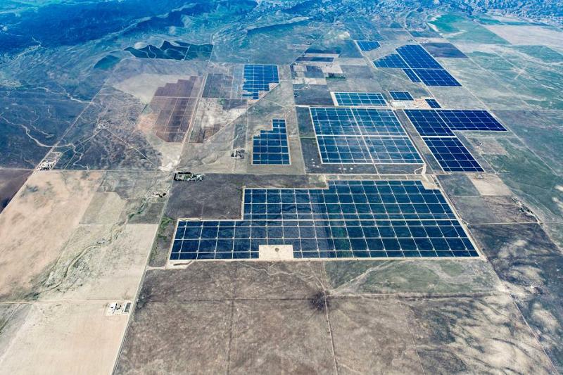 Солнечная электростанция Топаз в Калифорнии