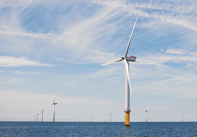 Ветряные турбины Siemens модели SWT-3.6-107