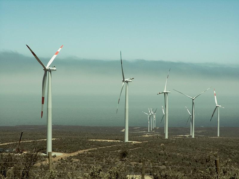 Ветряная электростанция Valle de los Vientos в Чили