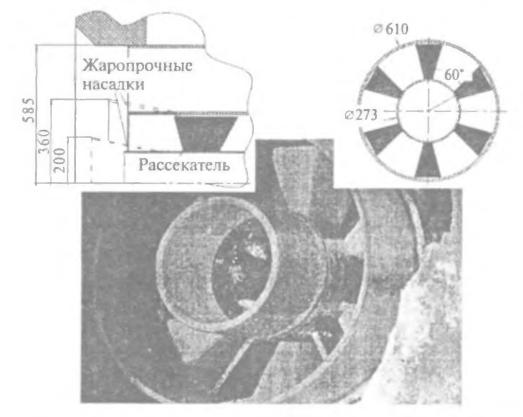 Модернизированная горелка котла ПК-З9 на Рефтинской ГРЭС
