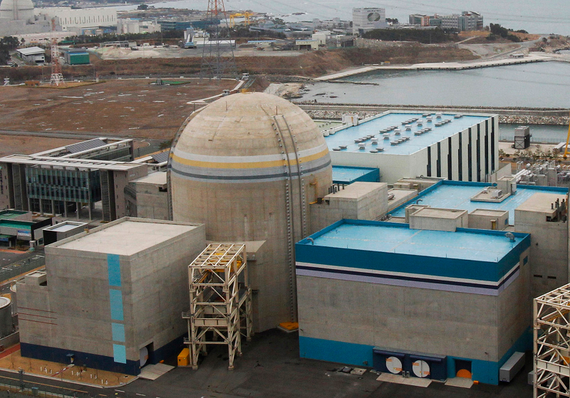 Энергоблок номер 2 южно-корейской АЭС Shin Wolsong