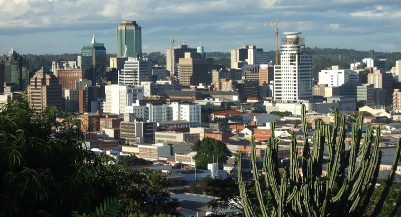 Столица Зимбабве город Хараре