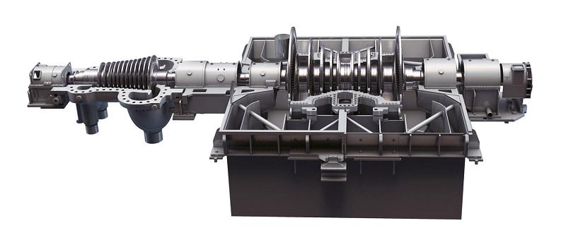 Паровая турбина GE D200