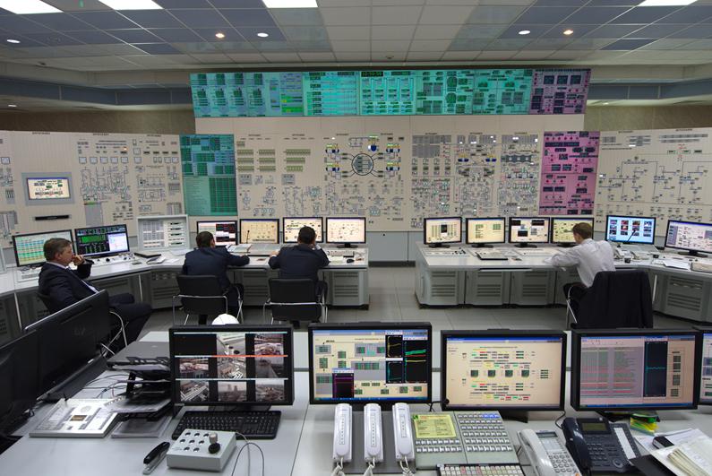 БЩУ энергоблока номер 3 Ростовской АЭС