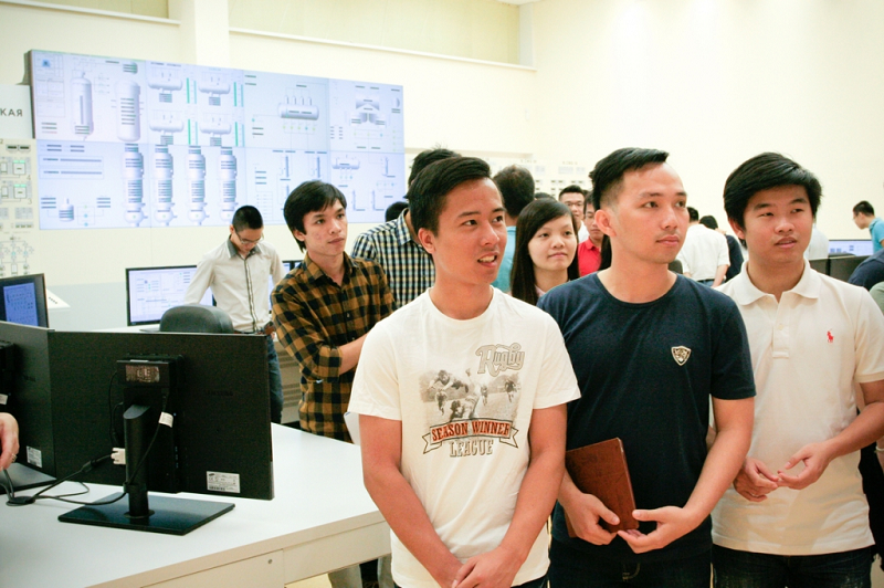 Студенты из Вьетнама