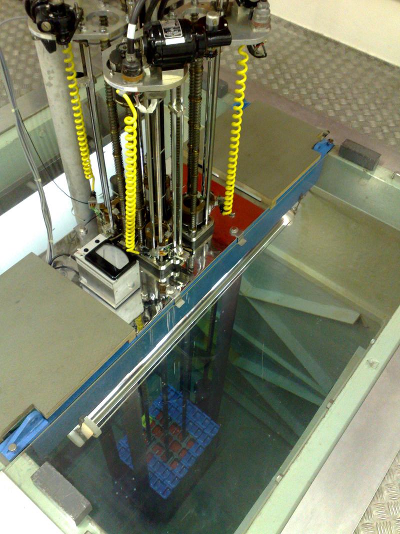 Исследовательский ядерный реактор AGN-211-P швейцарского университета Базеля