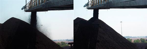 Методы борьбы с угольной пылью в воздухе на угольных складах ТЭС