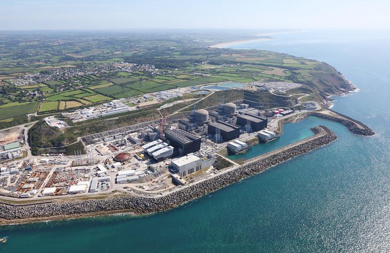 Строительство атомной электростанции в Фламанвиле, Франция