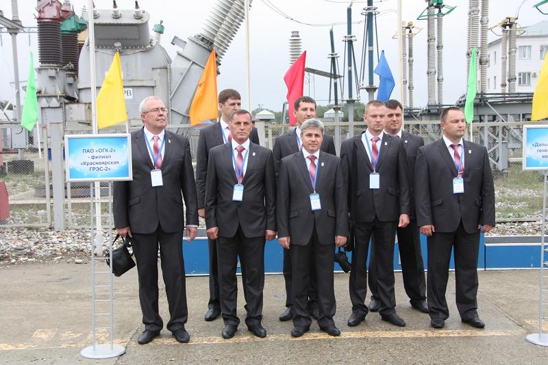 Команда «Газпром энергохолдинг» - Красноярская ГРЭС-2