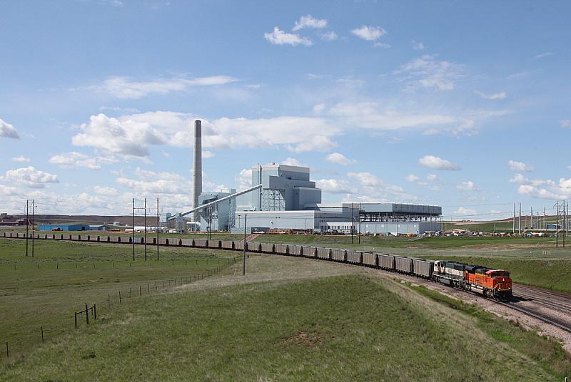 Угольная тепловая электростанция Dry Fork, штат Вайоминг, США