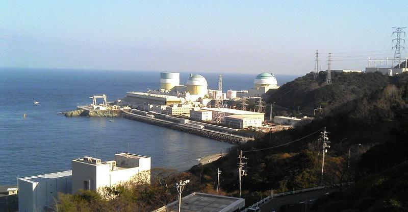Японская АЭС Ikata, расположенная на юго-западе префектуры Эхимэ