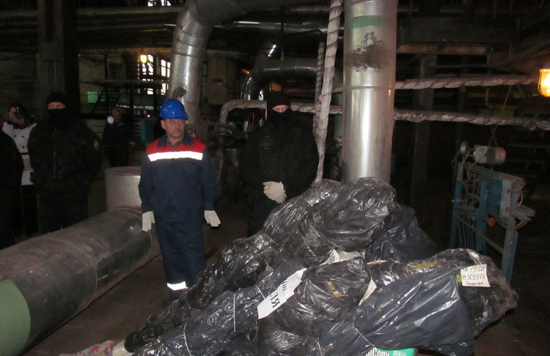 120 кг наркотиков сожгли в топке котла Тверской ТЭЦ-3