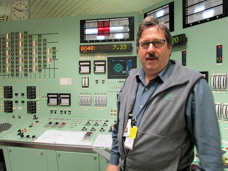 Брайн Стюарт, оператор реактора на АЭС FitzPatrick в США