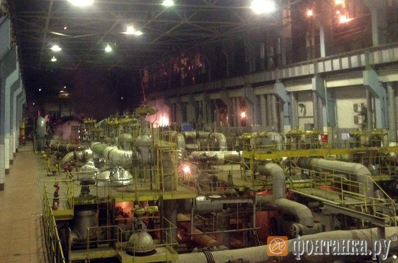 Пожар на Василеостровской ТЭЦ: турбина восстановлению не подлежит