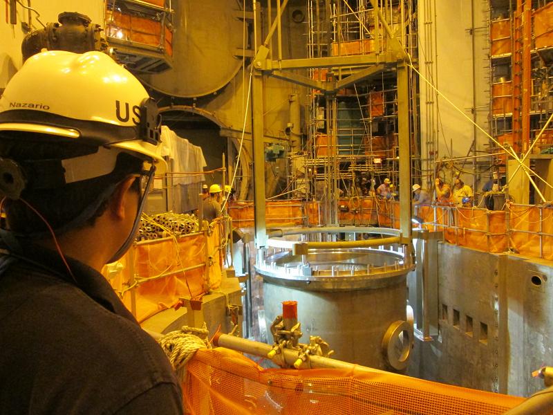 Ядерный реактор второго энергоблока АЭС Watts Bar