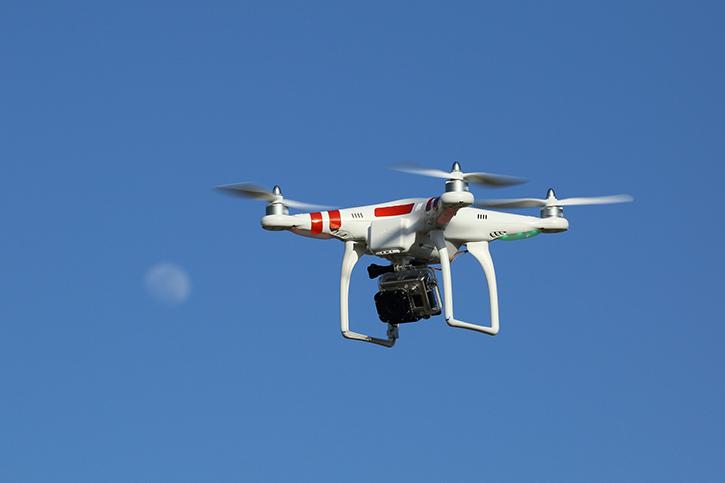 Беспилотный летательный аппарат DJI Phantom