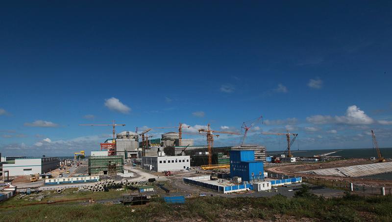 Строительство АЭС Fangchenggang в Китае