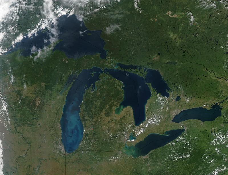 Великие озера в Канаде