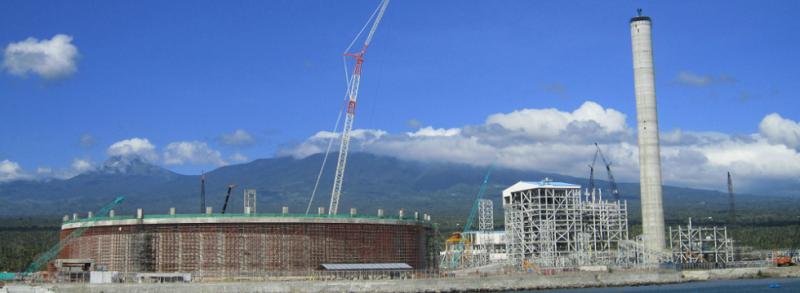 Строительство угольной ТЭС Therma South на Филиппинах