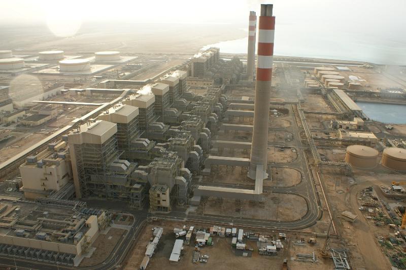Тепловая электростанция Shoaiba в Саудовской Аравии