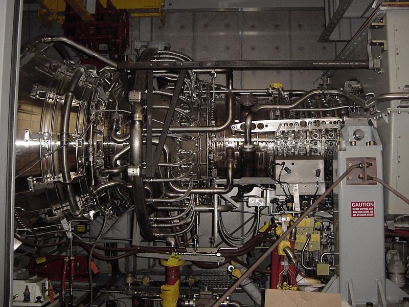 Газотурбинная установка LM6000 PF Sprint производства General Electric, которая будет установлена на ТЭЦ Восточная