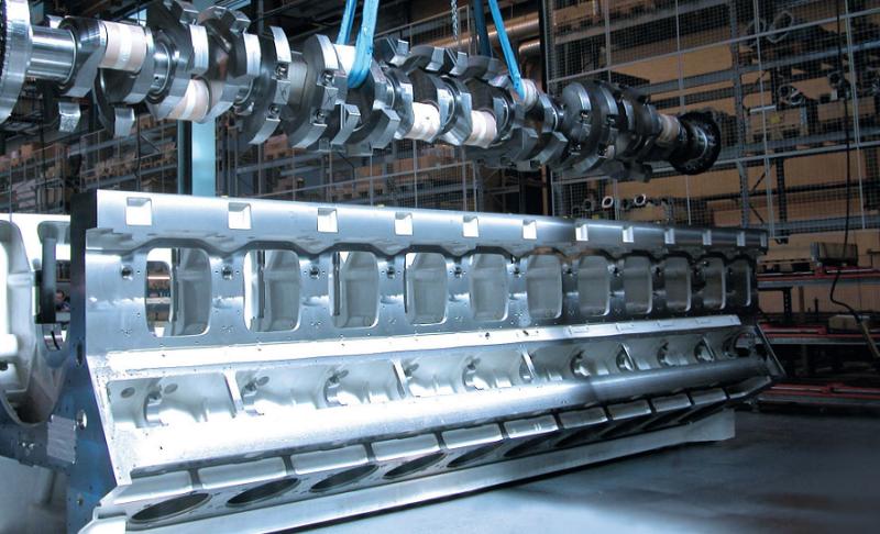 20-цилиндровые двигатели внутреннего Rolls-Royce Power Systems