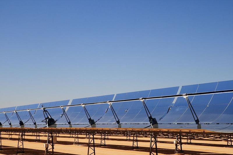 Концентрационная солнечная электростанция Noor в Марокко