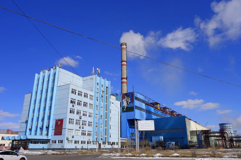 Улан-Баторская ТЭЦ-4 в Монголии