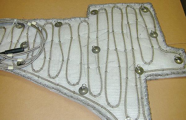 Нагревательное одеяло для паровой турбины