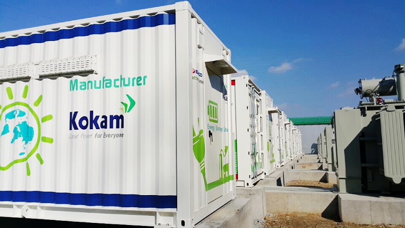 Система хранения электроэнергии южнокорейской энергетической компании Kokam
