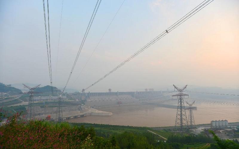 ЛЭП на ГЭС