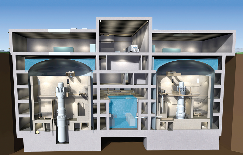Модульный ядерный реактор британской Rolls-Royce