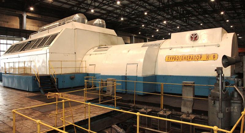 Теплофикационная турбина Т-250/300-240 энергоблока №9 ТЭЦ-22 ПАО «Мосэнерго»