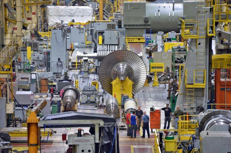 Один из заводов GE Power в Гринвилле, штат Южная Каролина