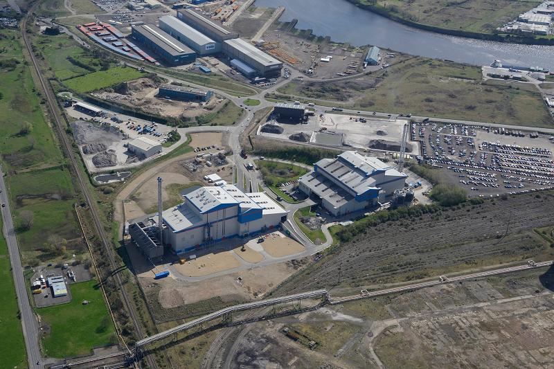Мусоросжигающая электростанция, работающая на оборудовании Hitachi, Великобритания