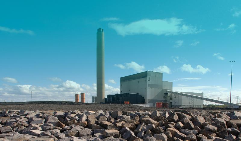 Угольная ТЭС Lynemouth в Великобритании