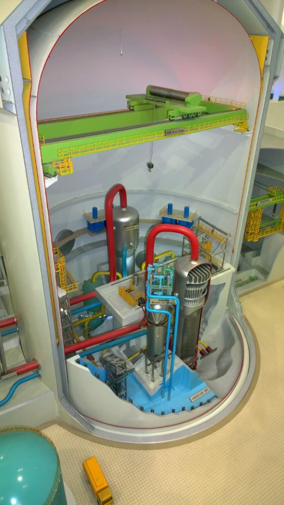 Модель китайского ядерного реактора CAP1400