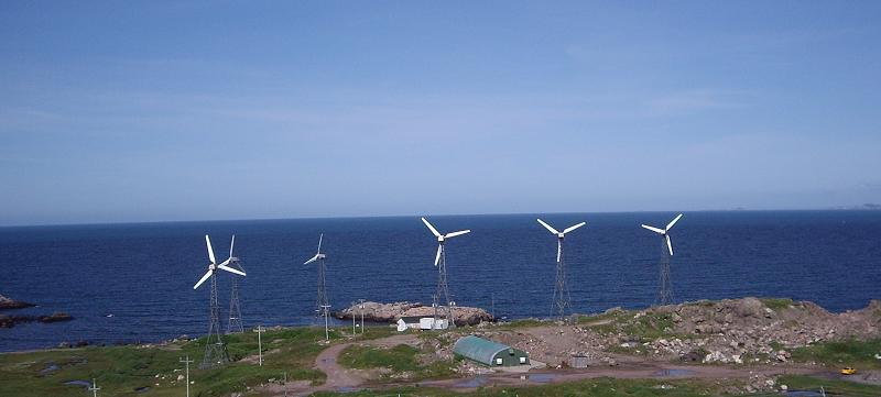 Ветряные турбины в Греции