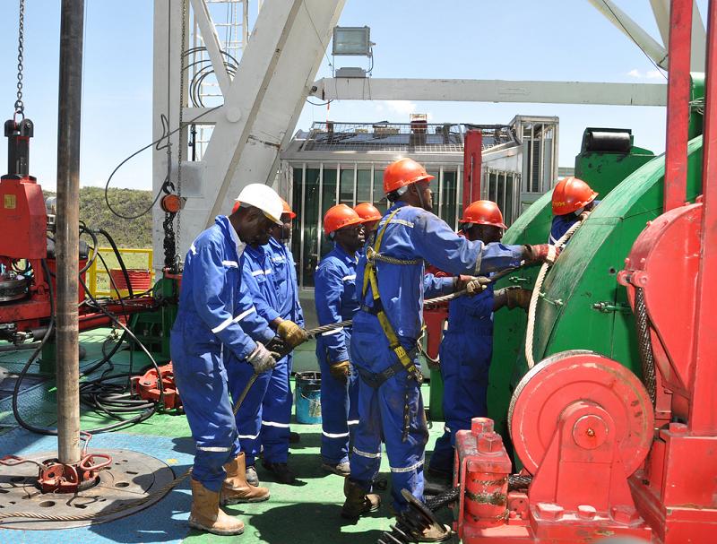 Бурение скважин для геотермальной электростанции Menengai в Кении