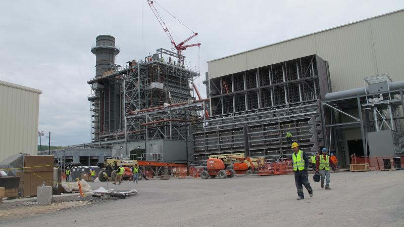 Строительство газовой ТЭС Panda Liberty в Пенсильвании, США