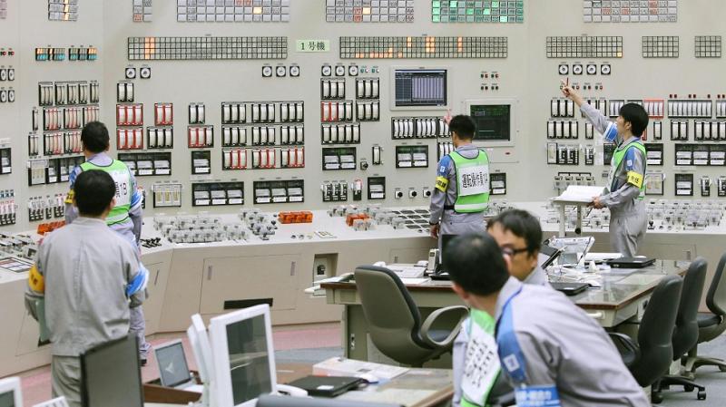 Щит управления на китайской АЭС