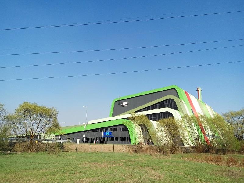 Новая ТЭС, работающая на отходах в Кракове, Польша