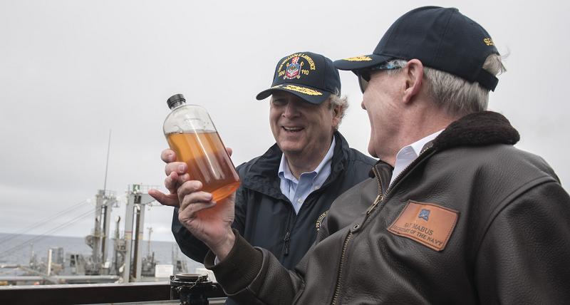 Биотопливо для ВМФ США
