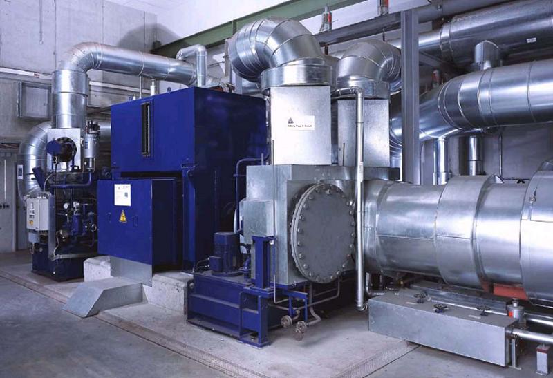 Компактная паровая турбина Siemens SST-110