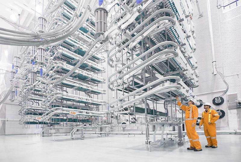 Высоковольтная преобразовательная станция GE