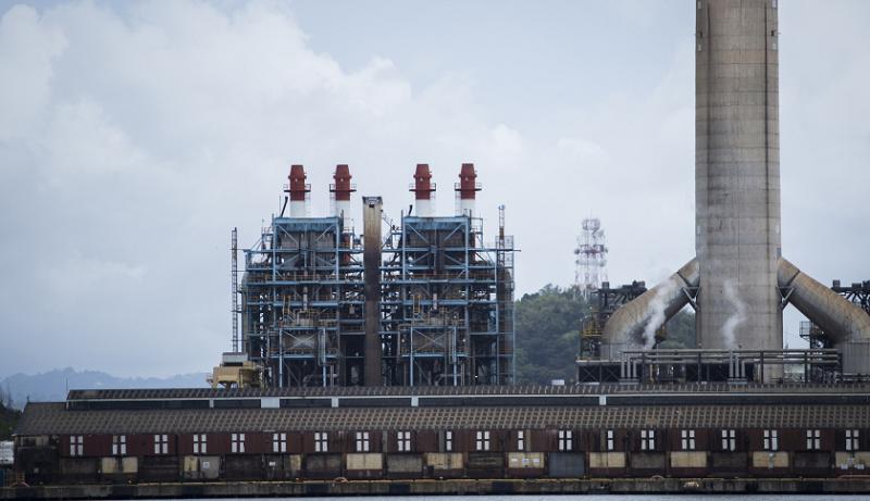 Электростанция в Пуэрто-Рико